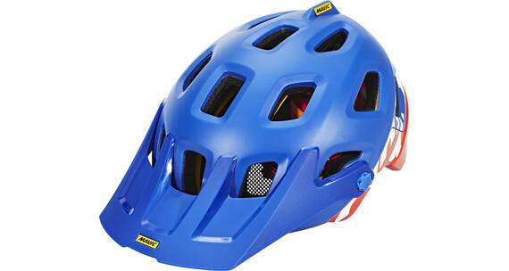 Mavic Crossmax Pro Cykelhjälm orange/blå